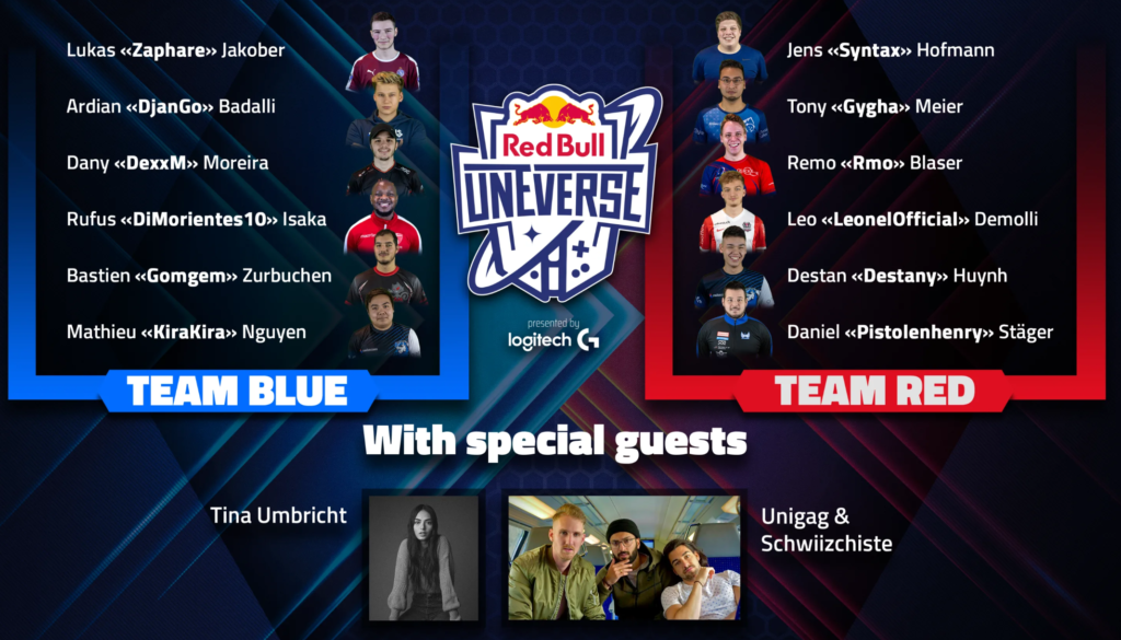 Red Bull uneverse Teams